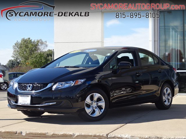 Certified Pre-Owned 2015 Honda Civic Sedan LX