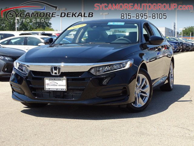 Certified Pre-Owned 2019 Honda Accord Sedan LX 1.5T