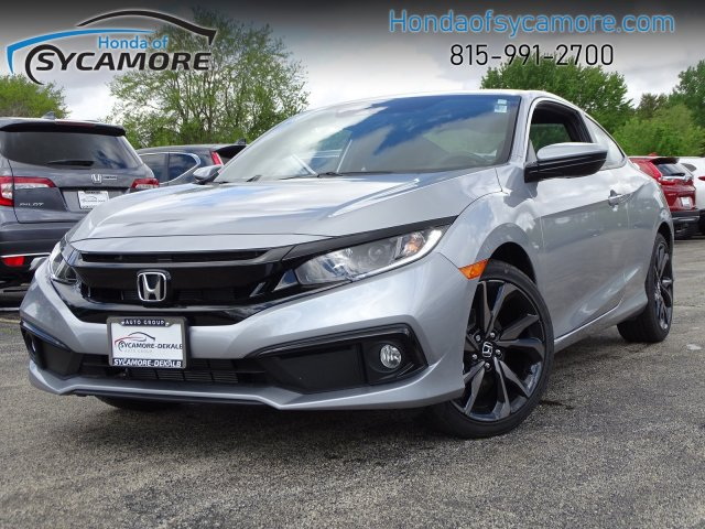 New 2019 Honda Civic Coupe Sport