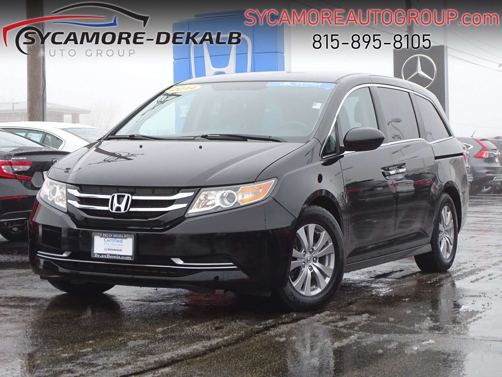 Certified Pre-Owned 2014 Honda Odyssey EX