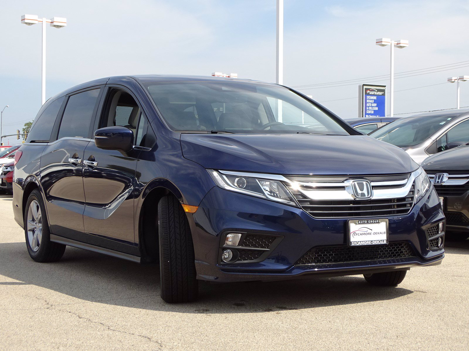 New 2020 Honda Odyssey EX-L w/Navi/RES With Navigation