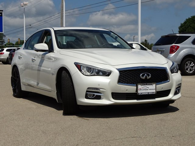 Pre-Owned 2016 INFINITI Q50 3 0t Premium With Navigation