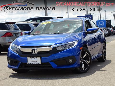 Certified Pre-Owned 2017 Honda Civic Sedan Touring